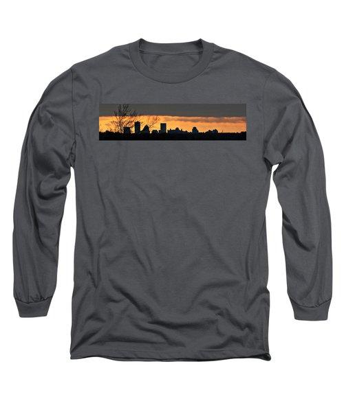 Rochester Skyline Long Sleeve T-Shirt by Richard Engelbrecht