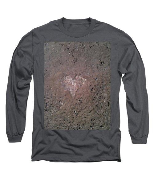 Rock Heart Long Sleeve T-Shirt