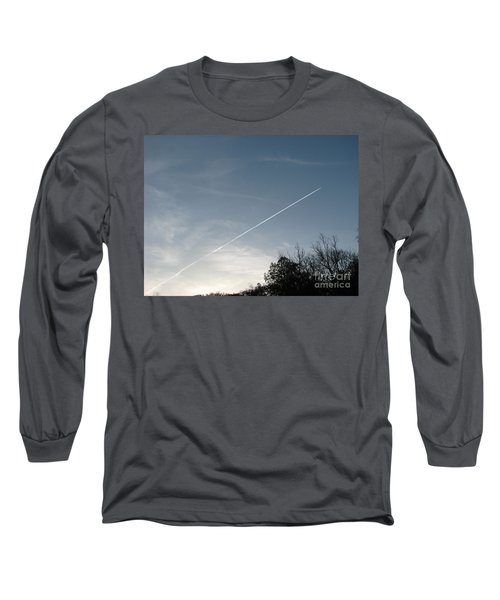 Long Sleeve T-Shirt featuring the photograph Rocket To The Stars by Michael Krek