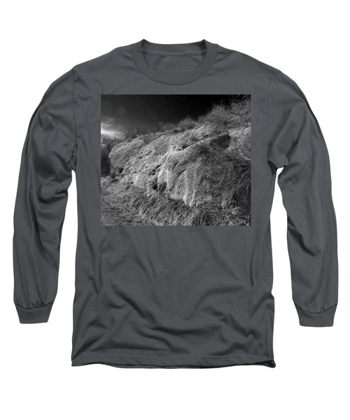 Rocky Face And Sky Long Sleeve T-Shirt