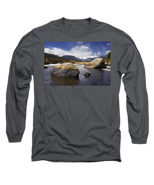 Rocky Mountain Creek Long Sleeve T-Shirt