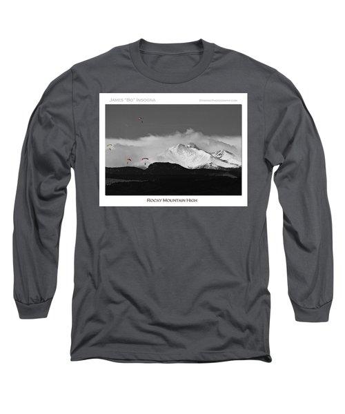 Rocky Mountain High Poster Print Long Sleeve T-Shirt