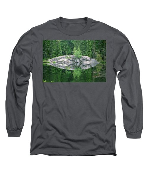 Rocky Reflection Long Sleeve T-Shirt by David Porteus