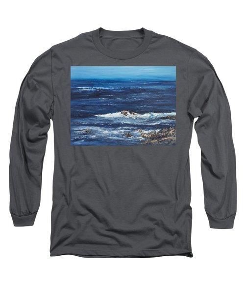 Rocky Shore Long Sleeve T-Shirt