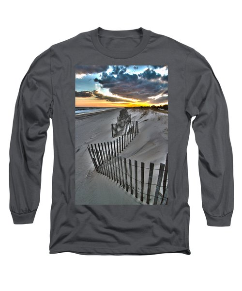 Rogers Beach First Day Of Spring 2014 Long Sleeve T-Shirt
