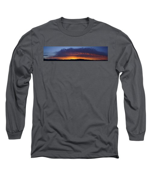 Rogue Valley Sunset Panoramic Long Sleeve T-Shirt