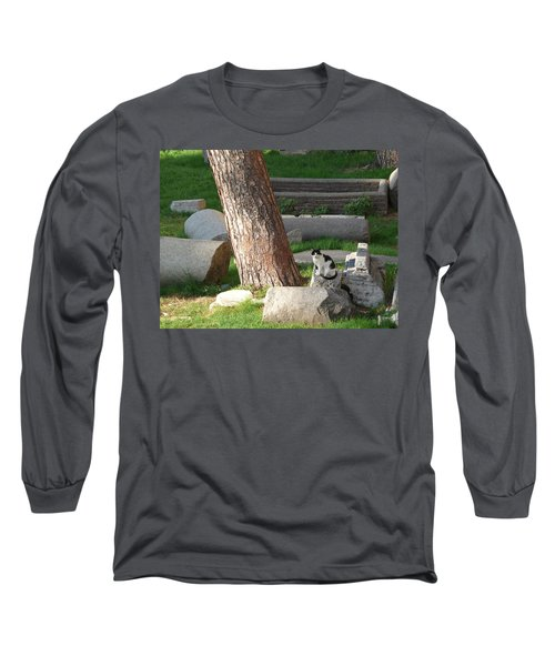 Long Sleeve T-Shirt featuring the photograph Roman Beauty by Evelyn Tambour