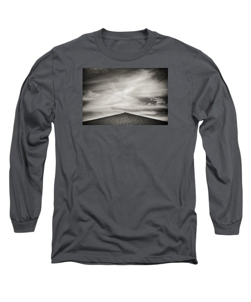 Long Sleeve T-Shirt featuring the photograph Rooftop Sky by Darryl Dalton