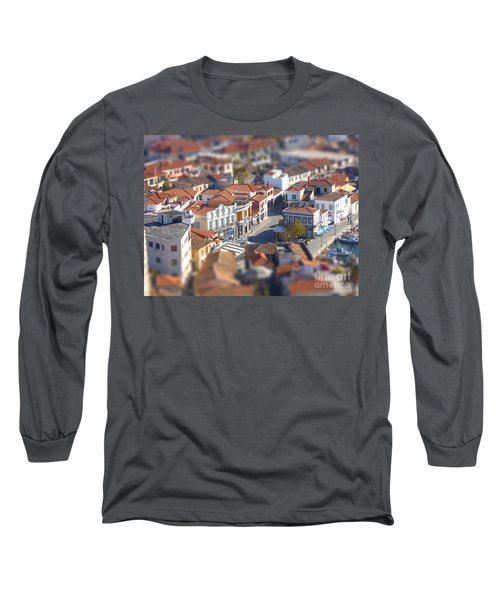 Rooftops Long Sleeve T-Shirt by Vicki Spindler