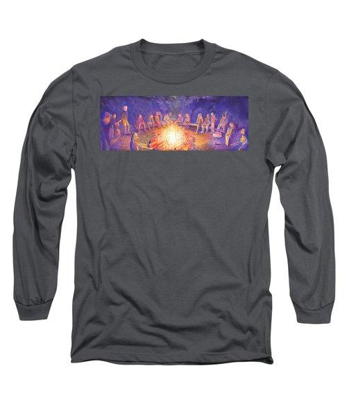 Roots Retreat Campfire Jam Long Sleeve T-Shirt