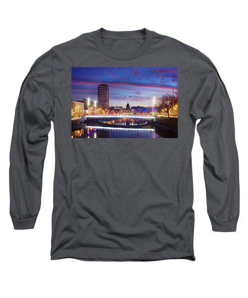 Rosie Hackett Bridge - Dublin Long Sleeve T-Shirt
