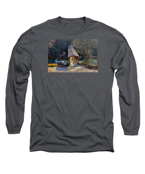 Roswell Covered Bridge Long Sleeve T-Shirt