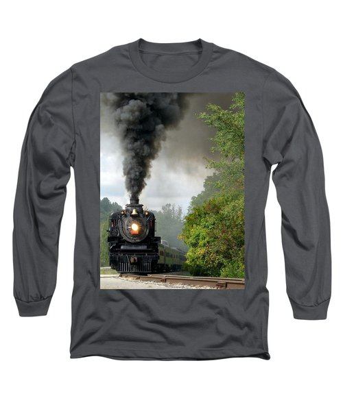 Steamin' In The Valley Long Sleeve T-Shirt