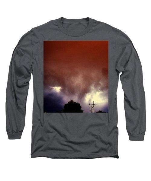 Rounds 2 3 Late Night Nebraska Storms Long Sleeve T-Shirt