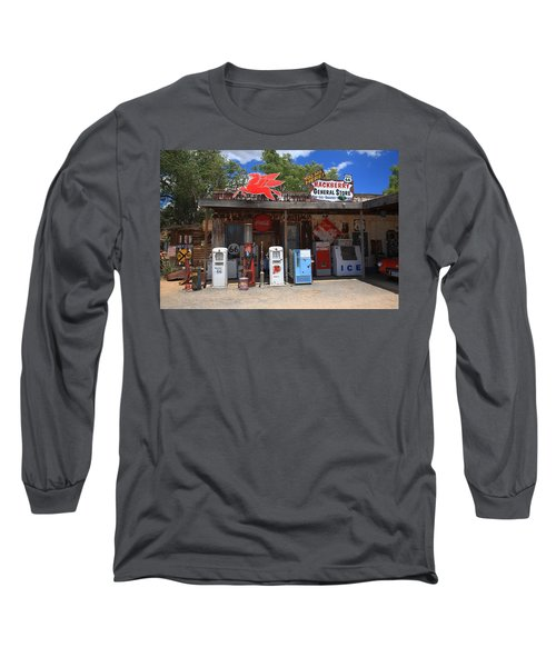 Route 66 - Hackberry General Store Long Sleeve T-Shirt