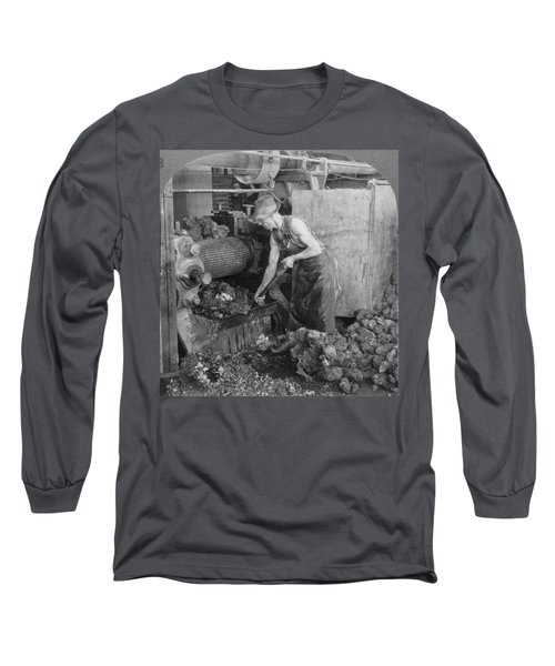 Rubber Production, C1928 Long Sleeve T-Shirt by Granger