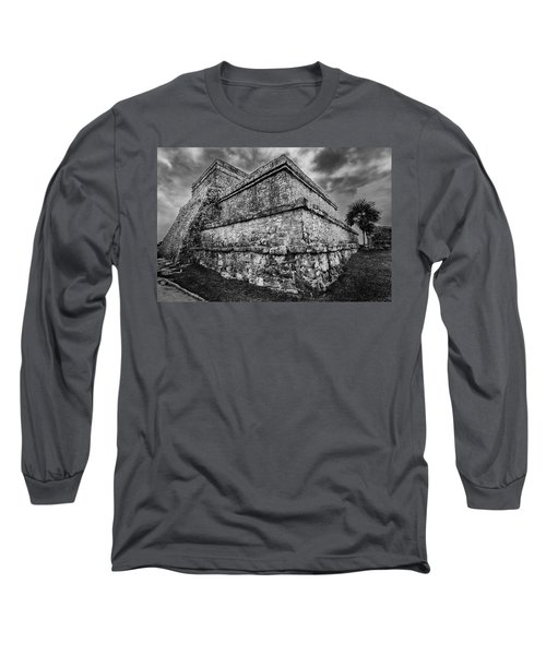 Ruin At Tulum Long Sleeve T-Shirt