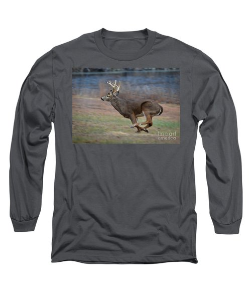 Running Buck Long Sleeve T-Shirt
