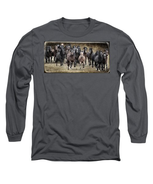 Running Wild Long Sleeve T-Shirt