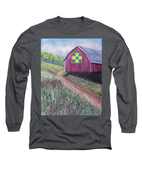 Long Sleeve T-Shirt featuring the painting Rural America's Gift by Susan DeLain
