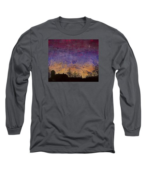 Rural Sunset Long Sleeve T-Shirt by Jack Malloch