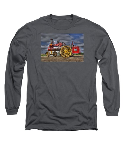 Russell Steam Long Sleeve T-Shirt by Shelly Gunderson