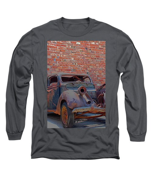 Rust In Goodland Long Sleeve T-Shirt by Lynn Sprowl