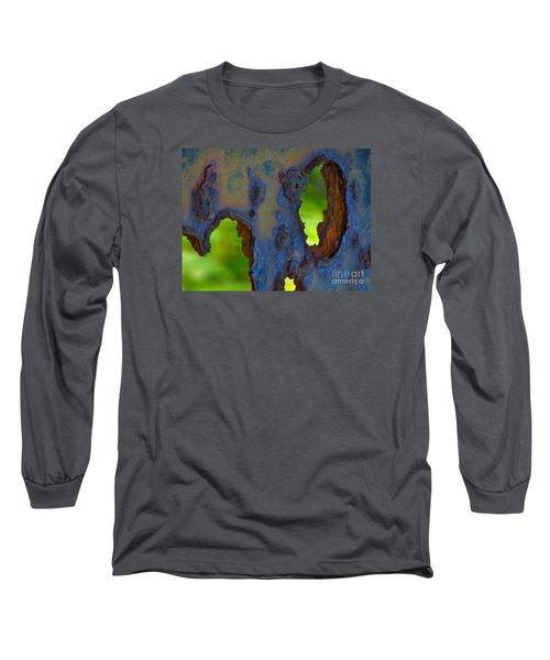 Rust In Peace Long Sleeve T-Shirt by Joy Hardee