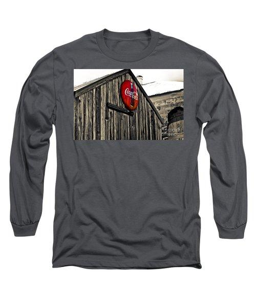 Rustic Long Sleeve T-Shirt by Scott Pellegrin