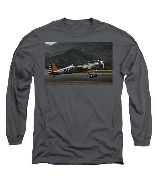 Ryan Pt-22 Recruit Long Sleeve T-Shirt by Michael Gordon