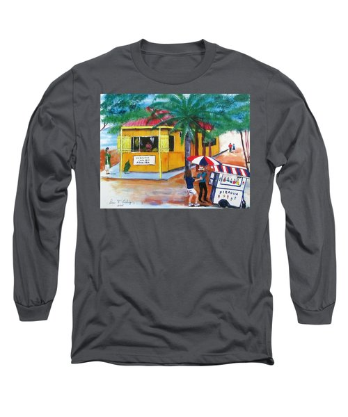 Sabor A Puerto Rico Long Sleeve T-Shirt