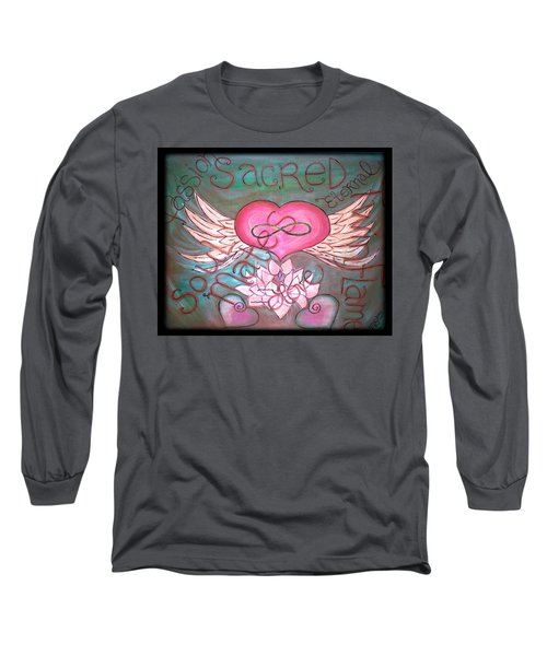 Sacred Soulmates And Twin Flames Long Sleeve T-Shirt
