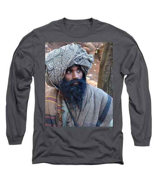 Sadhu At Amarkantak India Long Sleeve T-Shirt