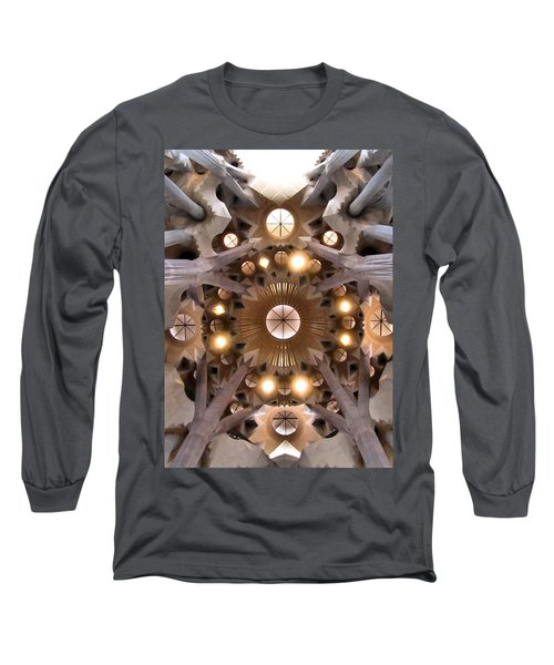 Sagrada Familia Long Sleeve T-Shirt by Jennifer Wheatley Wolf