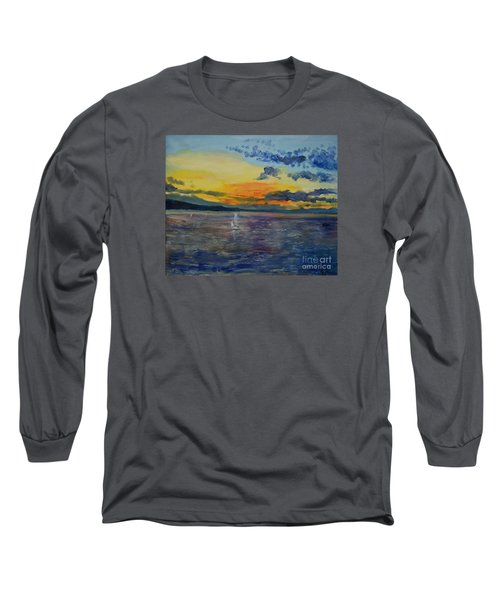 Sailboats Near Stockholm Long Sleeve T-Shirt