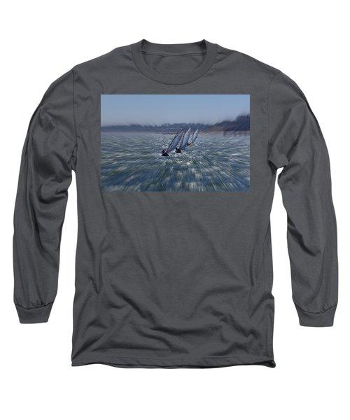 Sailing Boats Racing Long Sleeve T-Shirt