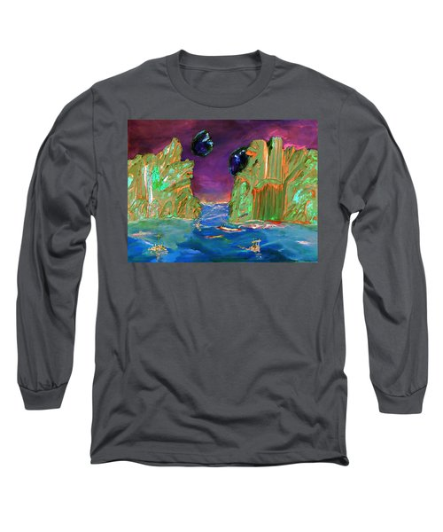 Sailing On Beta Antares 3 Long Sleeve T-Shirt