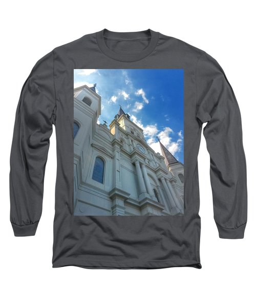 Saint Louis Cathedral  Long Sleeve T-Shirt