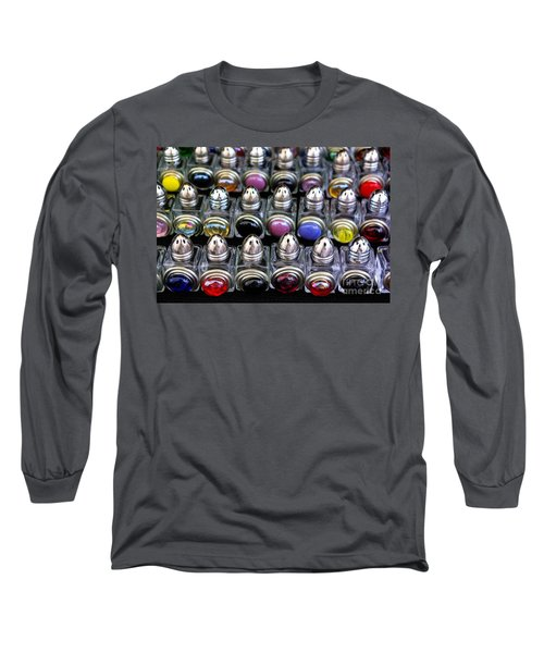 Long Sleeve T-Shirt featuring the photograph Salt And Pepper Soldiers by John S