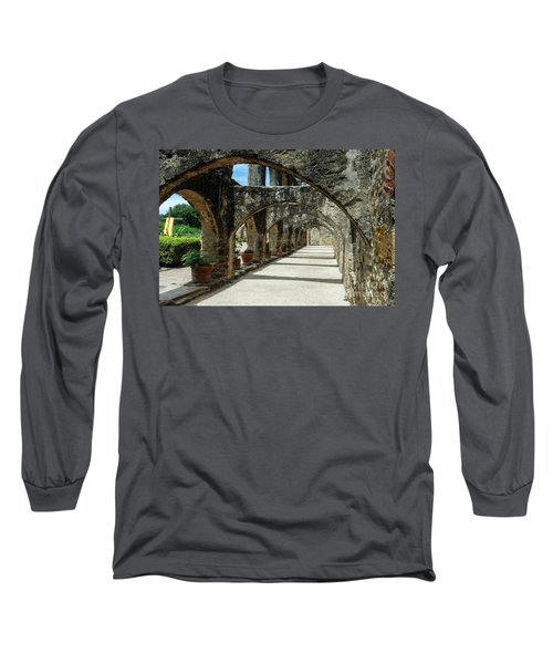 San Antonio Mission Arches Long Sleeve T-Shirt