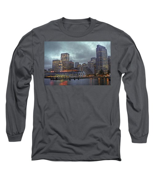 San Francisco Port All Lit Up Long Sleeve T-Shirt