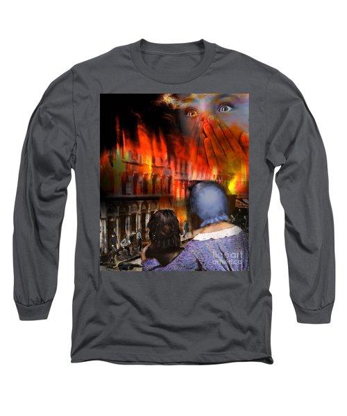 San Francisco Fire Long Sleeve T-Shirt