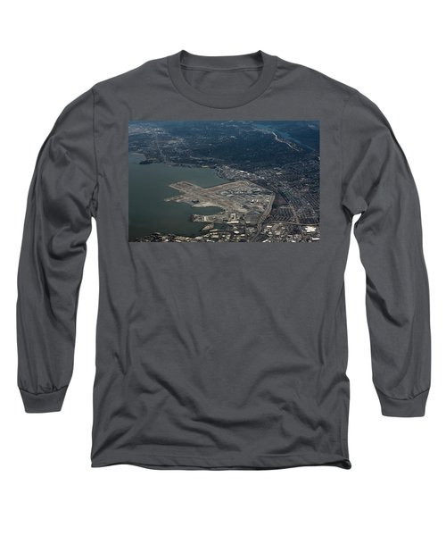 San Francisco International Airport Long Sleeve T-Shirt