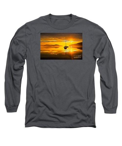 San Juan Sunrise Long Sleeve T-Shirt by Robert Bales