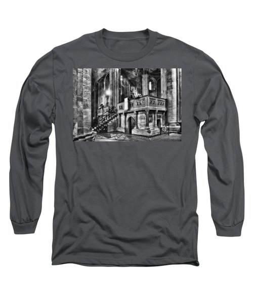 San Michele Toward The Altar Long Sleeve T-Shirt