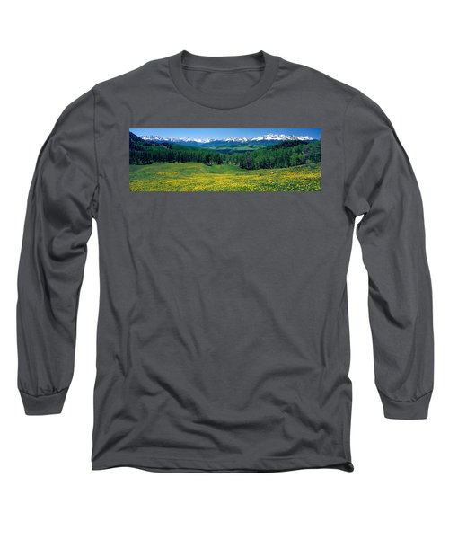 San Miguel Mountains In Spring Long Sleeve T-Shirt