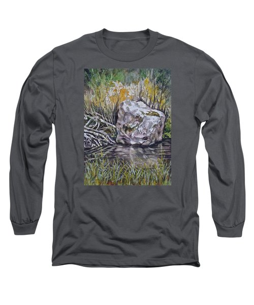 San Poil River Rock Long Sleeve T-Shirt