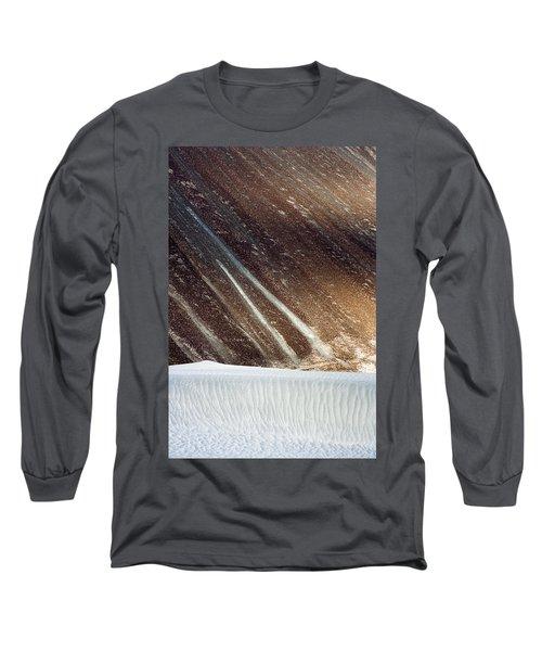 Sand Abstract, Hunder, 2006 Long Sleeve T-Shirt