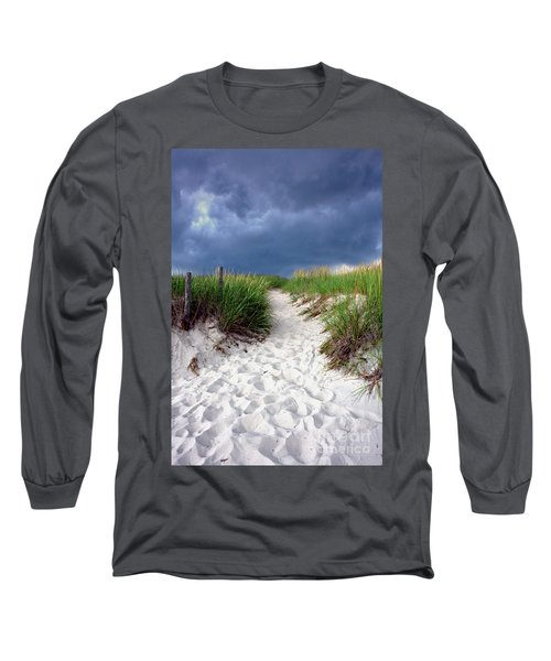 Sand Dune Under Storm Long Sleeve T-Shirt