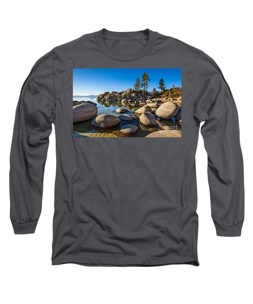 Sand Harbor Rock Garden Long Sleeve T-Shirt